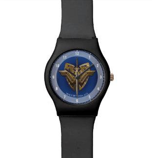 Wunder-Frauen-Symbol mit Klinge von Gerechtigkeit Armbanduhr