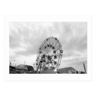 Wunder-Rad an der Dämmerungs-(Coney ist., NY), Postkarte