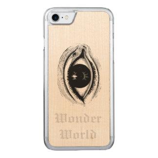 """""""Wunder-Welt"""" - Auge Carved iPhone 8/7 Hülle"""