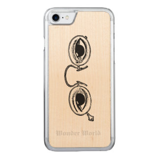 """""""Wunder-Welt"""" - flippige Gläser Carved iPhone 8/7 Hülle"""