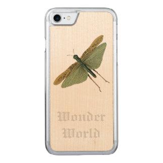 """Wunder-Welt"" - Heuschrecke Carved iPhone 8/7 Hülle"