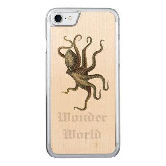 """""""Wunder-Welt"""" - Krake Carved iPhone 8/7 Hülle"""