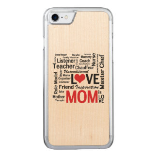 Wunderbar Tun-Es-Alle Mamma - der Tag oder der Carved iPhone 8/7 Hülle