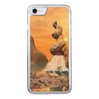Wunderbare Ansicht über das Meer Carved iPhone 8/7 Hülle