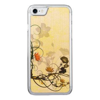 Wunderbare Blumen Carved iPhone 8/7 Hülle