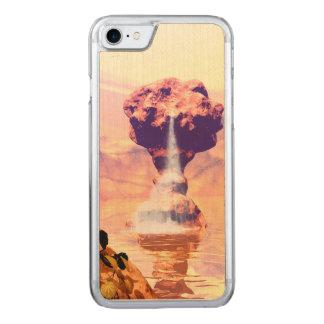 Wunderbare Fantasielandschaft mit Felsen Carved iPhone 8/7 Hülle