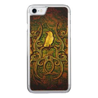 Wunderbare Krähe Carved iPhone 8/7 Hülle