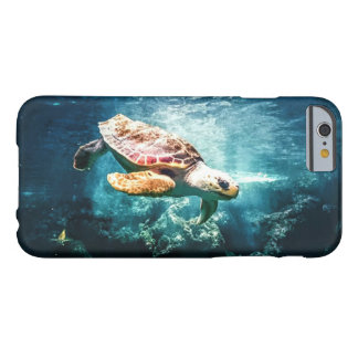 Wunderbare Meeresschildkröte-Unterwasserleben Barely There iPhone 6 Hülle