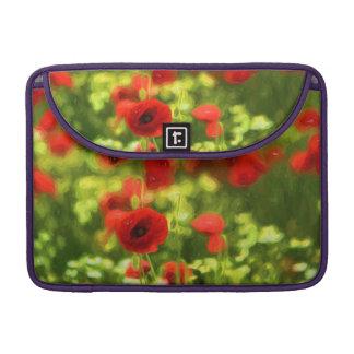 Wunderbare Mohnblumen-Blumen VI - Wundervolle Sleeve Für MacBooks