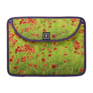 Wunderbare Mohnblumen-Blumen VIII - Mohnbluhmen MacBook Pro Sleeve