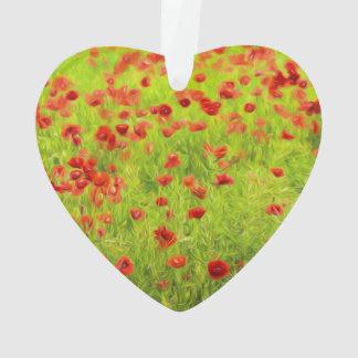 Wunderbare Mohnblumen-Blumen VIII - Mohnbluhmen Ornament