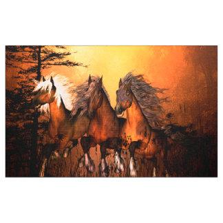 Wunderbare Pferde Stoff