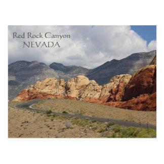 Wunderbare rote Felsen-Schlucht-Postkarte! Postkarte