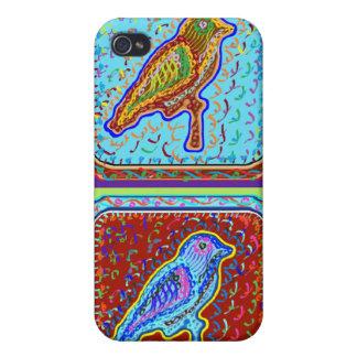 Wunderbare Vogel-Paare iPhone 4 Schutzhüllen