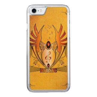 Wunderbarer Clef Carved iPhone 8/7 Hülle