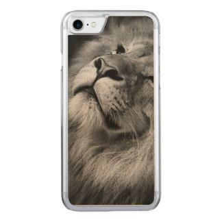 Wunderbarer Löwe Carved iPhone 8/7 Hülle