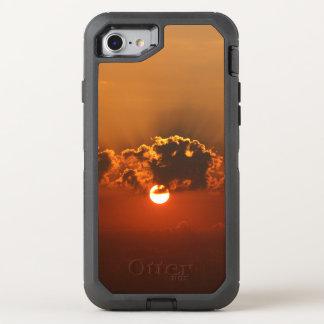 Wunderbarer Sonnenuntergang-Feiertag OtterBox Defender iPhone 8/7 Hülle