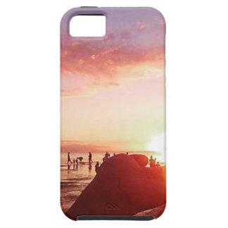 Wunderbarer und unglaublicher Sonnenuntergang in Tough iPhone 5 Hülle