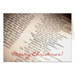 Wunderbares Ratsmitglied, mächtiger Gott [Weihnach Grußkarte