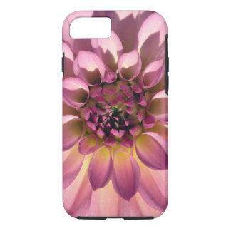 Wunderbares rosa Dahlie-Blumenblatt iPhone 8/7 Hülle