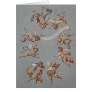 Wunderliche Renaissance-Engel Karte