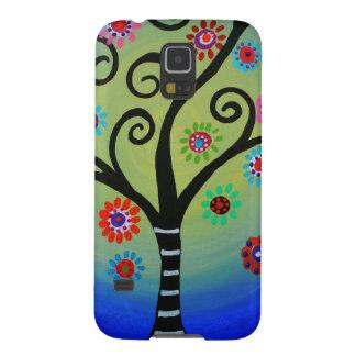 Wunderlicher Baum der Leben-Malerei Samsung Galaxy S5 Hülle