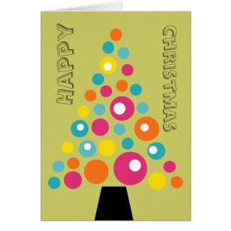 Wunderlicher Weihnachtsbaum Karte