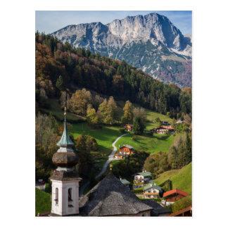 Wunderliches bayerisches Dorf, Deutschland Postkarten