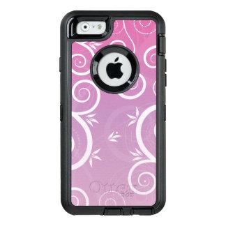 Wunderliches modernes Muster-Mit Blumenrosa OtterBox iPhone 6/6s Hülle