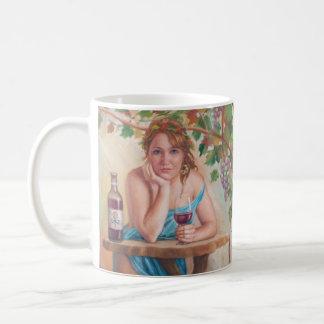Wunsch für Wein - Mythos-Mädchen-Tasse Tasse