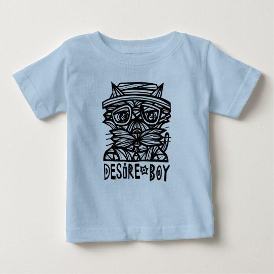 """""""Wunsch-Jungen-"""" Baby-T - Shirt"""