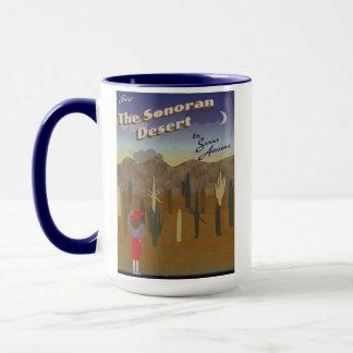 """""""Wunsch waren Sie hier"""" Sonoran Wüste Tasse"""