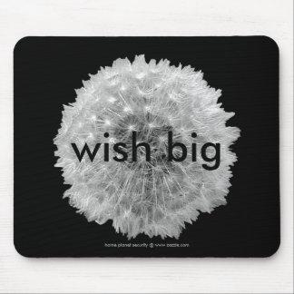 Wünsche sind geckig mousepads