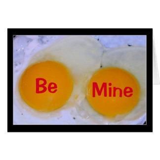 Würden Sie mein Ei-Stra Special-Valentinsgruß Karte