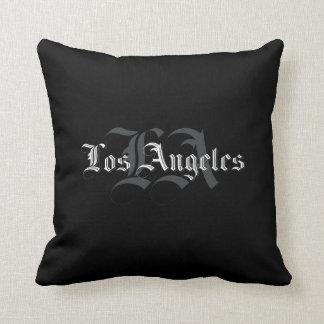 Wurfs-Kissen Los Angeles Blackletters Kissen