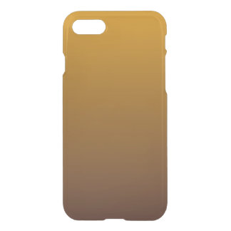 Würziges Gold Brown Ombre iPhone 8/7 Hülle