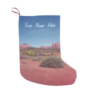 Wüste Vista personalisiert Kleiner Weihnachtsstrumpf