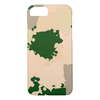 Wüsten-Oasen-Camouflage iPhone 7 Hülle