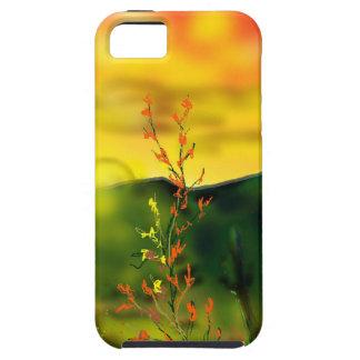 Wüsten-Sonnenuntergang IPhone 5 Abdeckung Etui Fürs iPhone 5