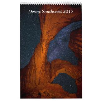 Wüsten-Südwesten 2017 Abreißkalender