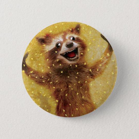 Wütend glücklicher Knopf Runder Button 5,1 Cm