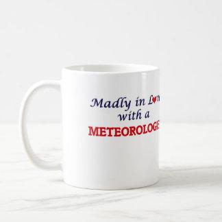 Wütend in der Liebe mit einem Meteorologen Kaffeetasse
