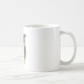 Wütende Eule Kaffeetasse