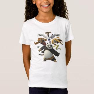 Wütende Pose fünf T-Shirt