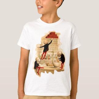 Wütende Wissenschaftler-Skelette T-Shirt