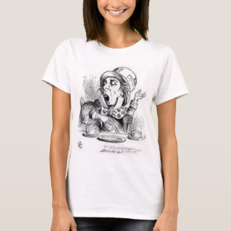 Wütender Hutmacher von der Alicen im Wunderland T-Shirt