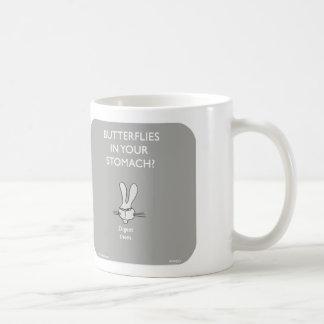 """WW055, """"basass Häschen"""" Häschen, Schmetterlinge, Kaffeetasse"""