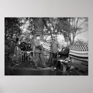 WW1 tricot patriotique, les années 10 Affiches