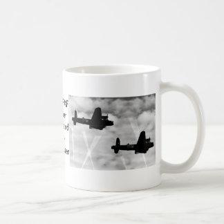 WW2 Avro Lancaster Bomber Kaffeetasse