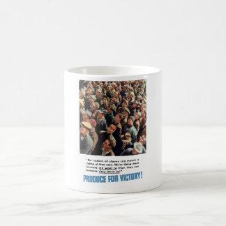 WW2 -- Erzeugnis für Sieg! Kaffeetasse